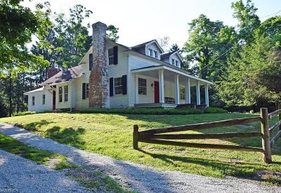 Gates Mills Single Family Home For Sale: 619 Chagrin River Rd