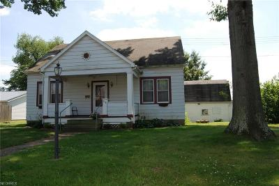 Zanesville Single Family Home For Sale: 516 Clyde Ct