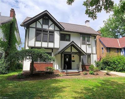 Shaker Heights Single Family Home For Sale: 3330 Kenmore Rd