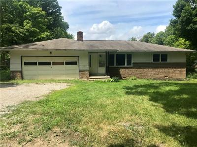 Single Family Home For Sale: 7800 Ravenna Rd