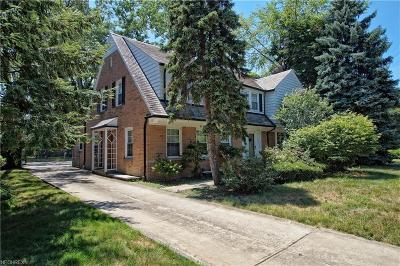 Shaker Heights Single Family Home For Sale: 18520 Van Aken Blvd