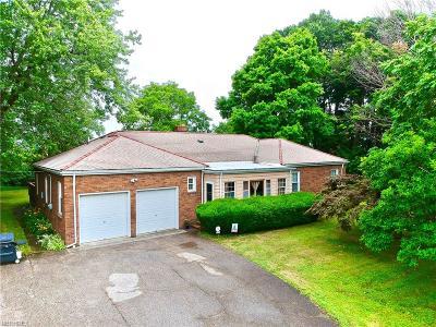 Ashtabula Single Family Home For Sale: 3235 Lake Rd West