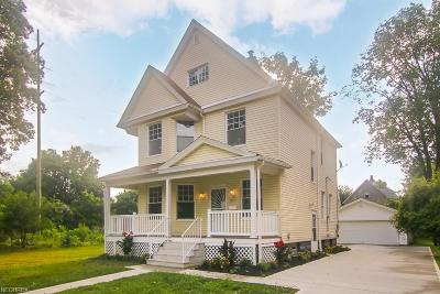 Cleveland Single Family Home For Sale: 1363 West 112 St