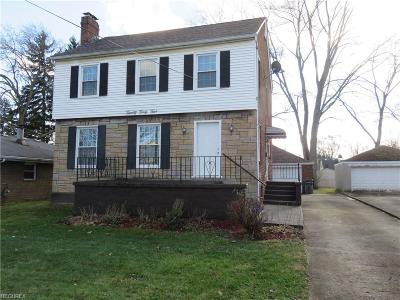 Single Family Home For Sale: 2045 Wakefield Ave
