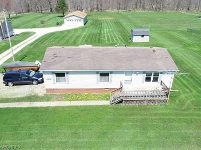 Garrettsville Single Family Home For Sale: 8307 Gotham Rd