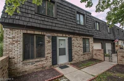 Brecksville, Broadview Heights Condo/Townhouse For Sale: 585 Tollis Pky #585