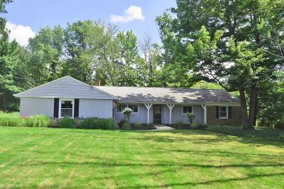 Pepper Pike Single Family Home For Sale: 28425 Belcourt Rd
