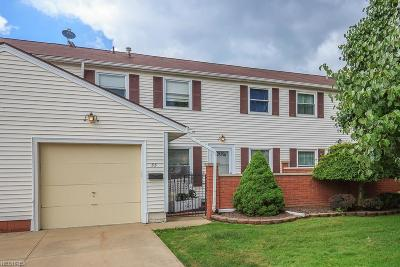 Mentor Condo/Townhouse For Sale: 55 Braintree Ln