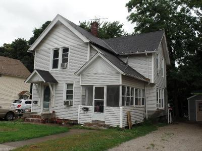 Painesville Multi Family Home For Sale: 478 West Jackson St