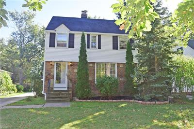 Lyndhurst Single Family Home For Sale: 5132 Mayview Rd
