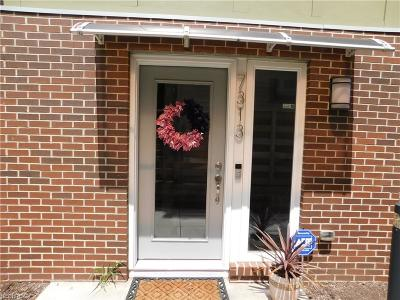 Cleveland Condo/Townhouse For Sale: 7313 Gateway Ct