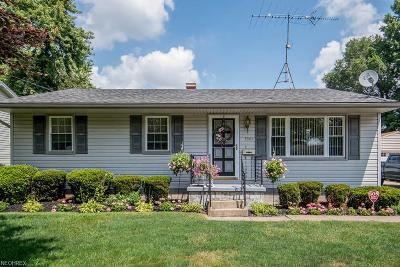 Youngstown Single Family Home For Sale: 3364 Sunnybrooke Dr