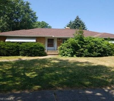 Cleveland Single Family Home For Sale: 9521 Cardwell Ave