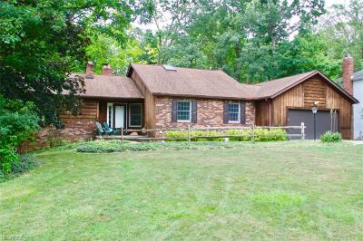 Brecksville Single Family Home For Sale: 9961 Gatewood Dr