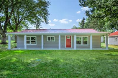 Single Family Home For Sale: 549 Hartzell Rd