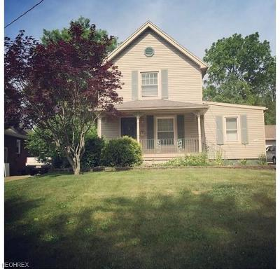 Youngstown Single Family Home For Sale: 34 South Hartford Ave