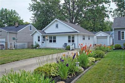 Eastlake Single Family Home For Sale: 33834 Willowick Dr