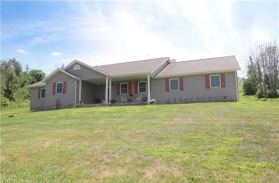 New Concord Single Family Home For Sale: 2775 Maplebrook Rd