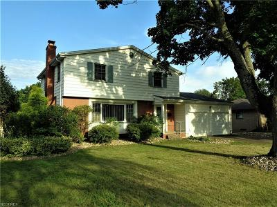 Youngstown Single Family Home For Sale: 2493 Birchwood Dr