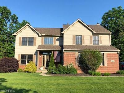 Avon Single Family Home For Sale: 4738 Fairway Dr