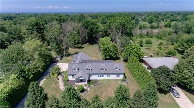 Lake County Single Family Home For Sale: 28835 Eddy Rd