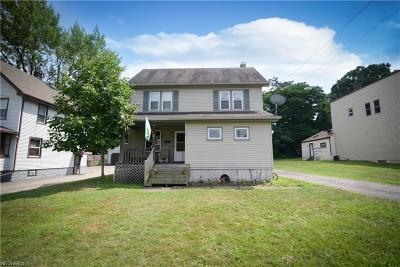 Struthers Single Family Home For Sale: 406 Elm St