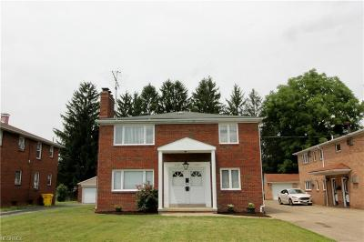 Youngstown Multi Family Home For Sale: 7124 Glendale Ave