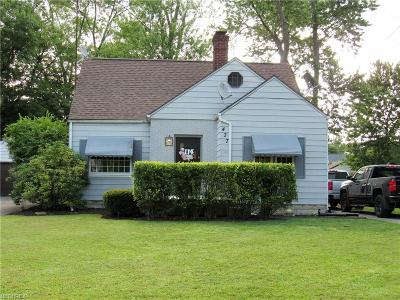 Warren Single Family Home For Sale: 437 Meadowbrook Ave Southeast