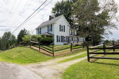 Medina Single Family Home For Sale: 7110 Lake Rd