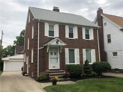 Cleveland Heights Single Family Home For Sale: 1144 Oxford Rd