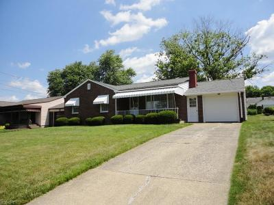 Girard Single Family Home For Sale: 975 Lincoln Ave
