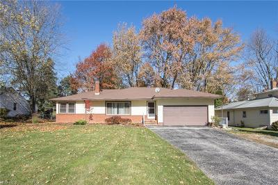 Broadview Heights Single Family Home For Sale: 1811 East Wallings Rd