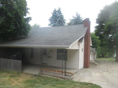 Wadsworth Single Family Home For Sale: 408 Oak St