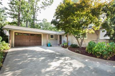Bay Village Single Family Home For Sale: 23301 Lake Rd