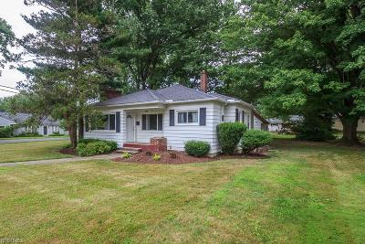 Mentor Single Family Home For Sale: 8205 Broadmoor Rd