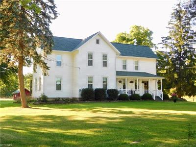 Huron County Single Family Home For Sale: 503 Fitchville River Rd North