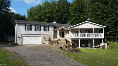 Ashtabula County Single Family Home For Sale: 3016 Us Route 6