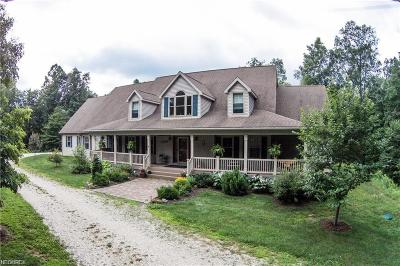 Guernsey County Single Family Home For Sale: 6255 Sherard