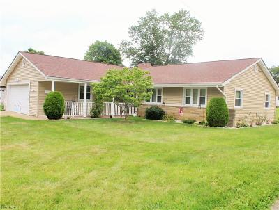 Youngstown Single Family Home For Sale: 3352 Sandalwood Ln