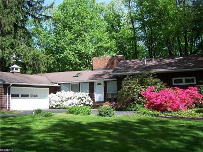Solon Single Family Home For Sale: 103 Meadow Lane