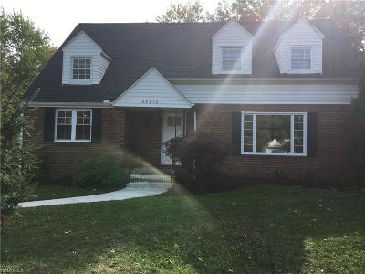 Richmond Heights Single Family Home For Sale: 25912 Highland Rd