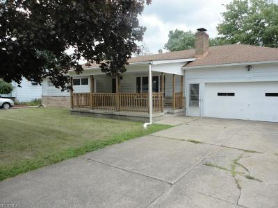 Girard Single Family Home For Sale: 927 Pinecrest Rd