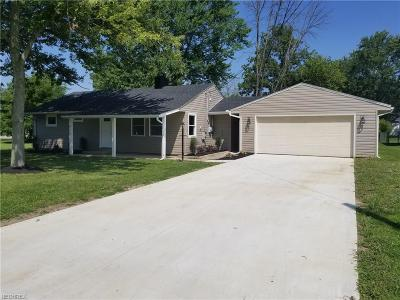 Elyria Single Family Home For Sale: 412 Metcalf Rd