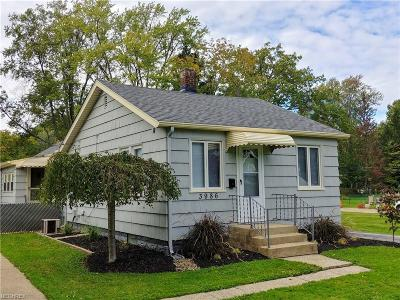 Fairview Park Single Family Home For Sale: 3986 West 226th St