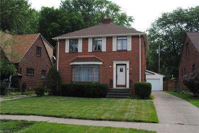 Cleveland OH Single Family Home For Sale: $164,900