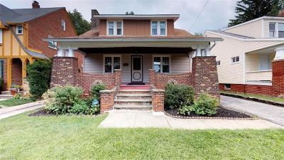 Cuyahoga County Single Family Home For Sale: 1039 Oxford Rd