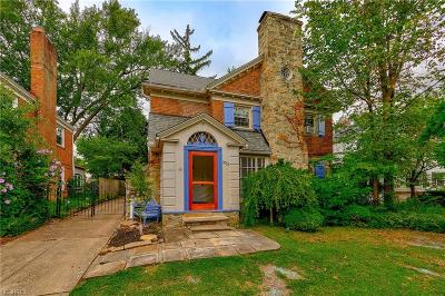 Shaker Heights Single Family Home For Sale: 3716 Lytle Rd