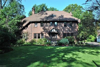 Cleveland Heights Single Family Home For Sale: 2286 Ardleigh Rd