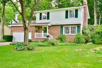 Boardman Single Family Home For Sale: 8065 Aquadale Dr