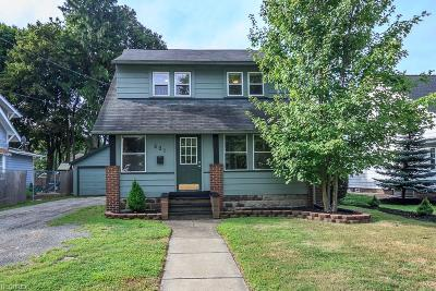 Painesville Single Family Home For Sale: 501 West Walnut Ave